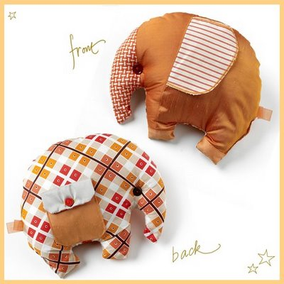 cute letter borders. Elephant Cushion from Letter M