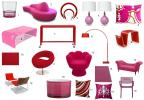 Valentine's Day Inspiration: Pink + Red Decor