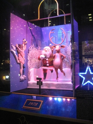 Bloomingdale's holiday window 2011