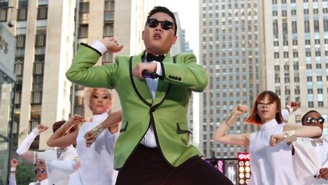 Psy photo credit AP